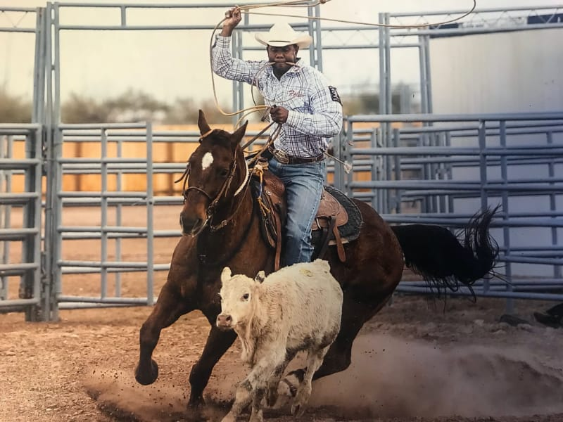 Robert Wooten - Calf Roping